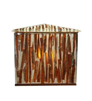 34''W X 29''H Marina Fused Glass Vanity Cabinet (96 116368)
