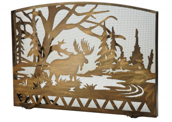 47''W X 38''H Moose Creek Arched Fireplace Screen (96|113070)