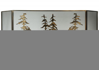 96''W X 40''H Tall Pines Fireplace Screen (96|113067)