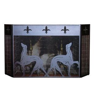 50'' Long X 30'' High Greyhound Fireplace Screen (96|29440)