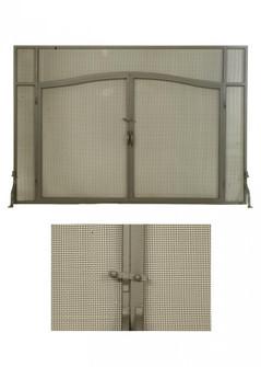 62''W X 42''H Prime Fireplace Screen (96|81232)