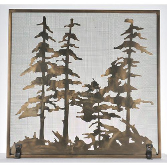 34''W X 33''H Tall Pines Fireplace Screen (96|99766)