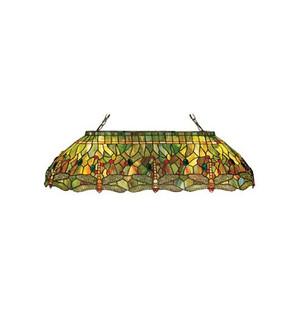 40''L Tiffany Hanginghead Dragonfly Oblong Pendant (96 26544)