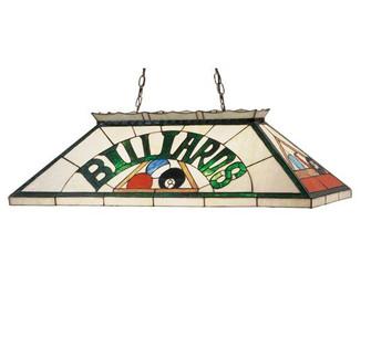 39''L Billiard & Rack Oblong Pendant (96 47976)