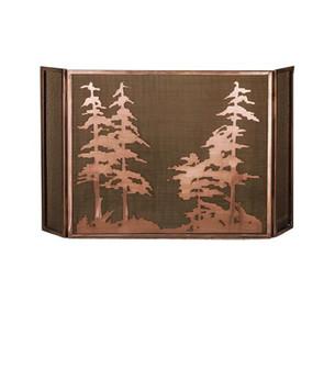 50''W X 30''H Tall Pines Fireplace Screen (96|32281)