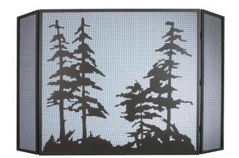 68'' Wide X 39'' High Tall Pines Fireplace Screen (96|31676)