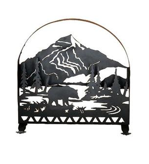 30''W X 30''H Bear Creek Arched Fireplace Screen (96|28756)