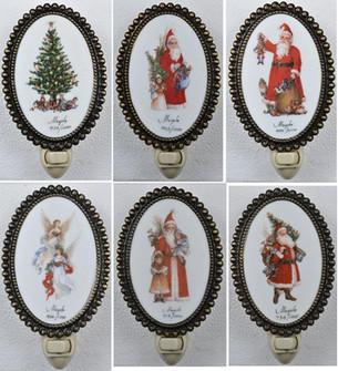 6''H Christmas 12 Pieces Night Light (96|18641)