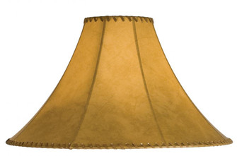 20'' Wide Faux Leather Tan Hexagon Shade (96 26353)
