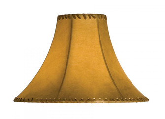 14'' Wide Faux Leather Tan Hexagon Shade (96 26351)