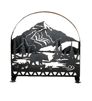 30''W X 30''H Bear Creek Arched Fireplace Screen (96|23434)