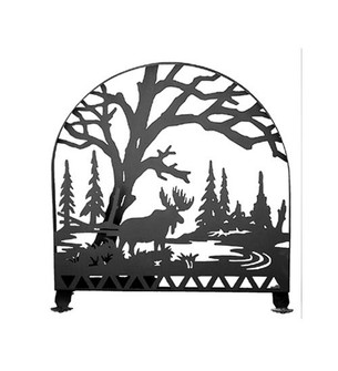 30''W X 30''H Moose Creek Arched Fireplace Screen (96|23365)