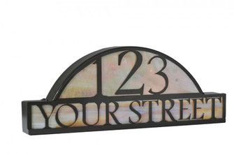 24.5'' Wide Personalized Street Address Sign (96|18598)