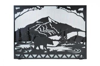 49''W X 36''H Bear Creek Fireplace Screen (96|107426)
