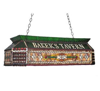 40''L Personalized Baker's Tavern Oblong Pendant (96 104942)