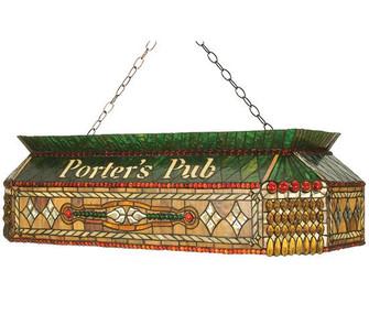 40''L Personalized Porter's Pub Oblong Pendant (96 102894)