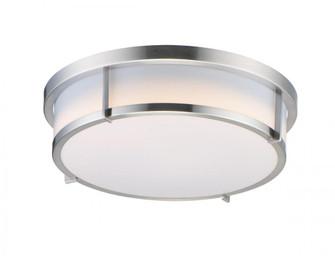 Rogue LED 1-Light Flush Mount EM Back Up (19|10278WTSN)