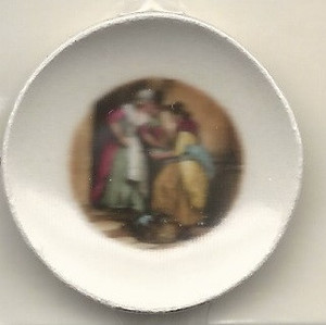 46-4 - LADY & MAID PLATE