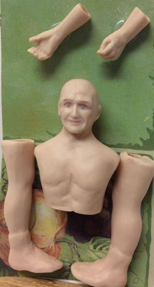 Dollhouse Miniature - Porcelain Doll Kit - Robert - 1:12 Scale