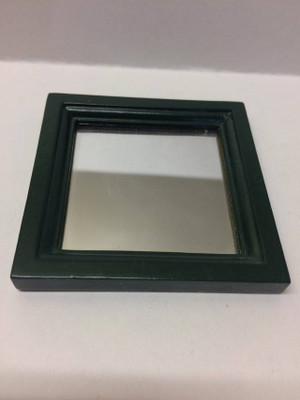 Dollhouse Miniature - 30903 - Mirror - Oak & Green Paint