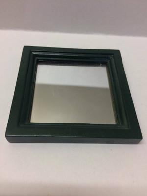 Dollhouse Miniature - 30903 - Mirror - Oak & Green Paint