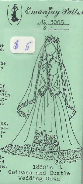 3005-1880s-Cuirass-and-bustle-wedding-gown-emanjay-sewing-pattern/