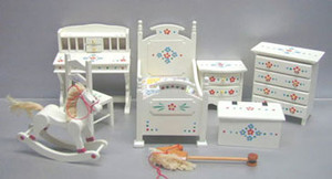 TLF204 - Nursery Set - 8 pc set