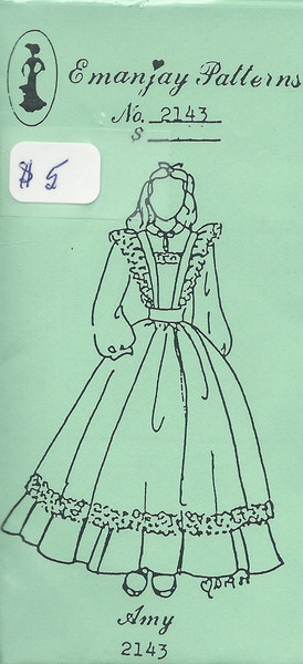 2143 - Amy Dress - Emanjay Sewing Pattern