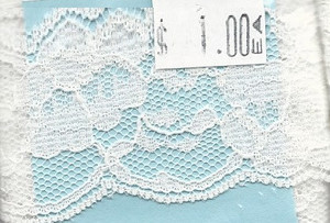 4190014 - Lace: White - Wide