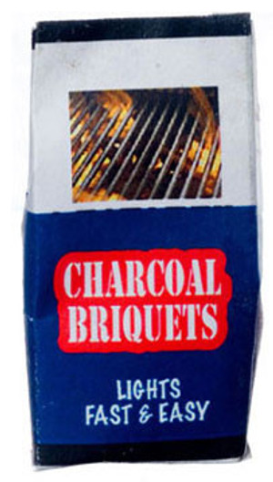 Dollhouse Miniature - FR56038 - FA56038 - Charcoal Briquettes Bag
