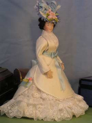 322 - Victorian Traveling Costume #1