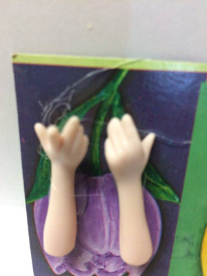 Dollhouse Miniature – FINGER UP ARM - Porcelain Doll Kit Hand & Arms Only