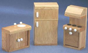 CLA91120 - Playstuf Kitchen - Set/3