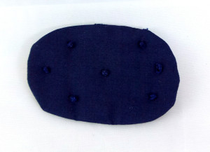 Dollhouse Miniature - ALS008 - Alice Lacy - Curved Rectangle Cushion