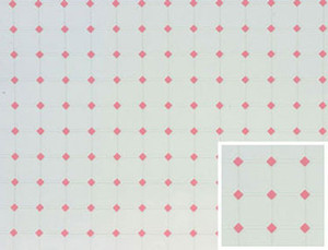 "FF60645 - Tile: Diamond - Pink - 11"" x 15.5"""