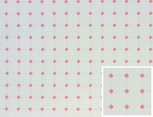 """FF60645 - Tile: Diamond - Pink - 11"""" x 15.5"""""""