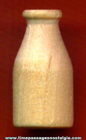 3094 - Wood Milk Bottle