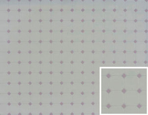Dollhouse Miniature - Tile -Diamond - Lilac - FF60652
