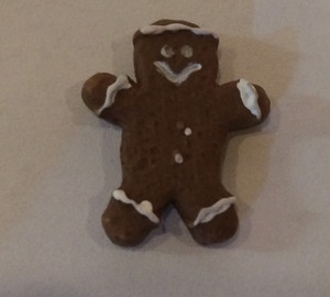 902347 - Gingerbread man - Large
