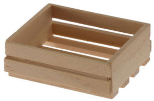 IM65432 - 8 Slat wooden crate