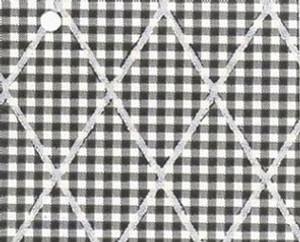 NC843.13 - WP -Black Check w/Lines