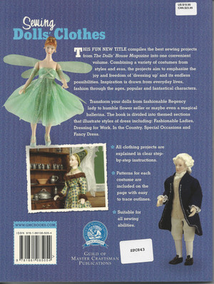 Dollhouse Miniature Instruction Book - Sewing Dolls' Clothes - 1-86108-505-4