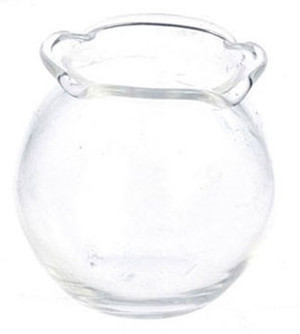 Dollhouse Miniature - FCA1191 - Fish Bowl - Small - Scalloped Edge