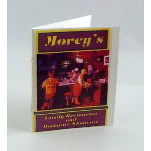 Dollhouse Miniature - FA40316 - Morey's Menu