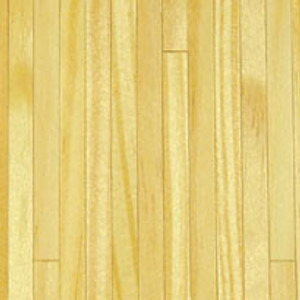 "Dollhouse Miniature - Wood Flooring: Pine - 1/4"" Strips - HW7023"