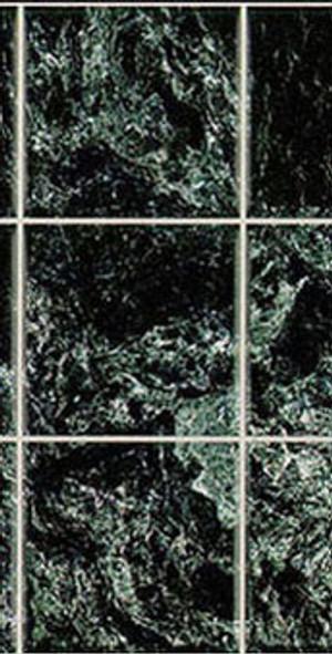 Dollhouse Miniature - NO WAX MARBLE FLOOR - BLACK - MH5956