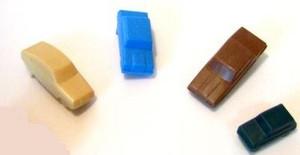 Dollhouse Miniature - 5360 - Toy Cars for a Dollhouse - Set/4