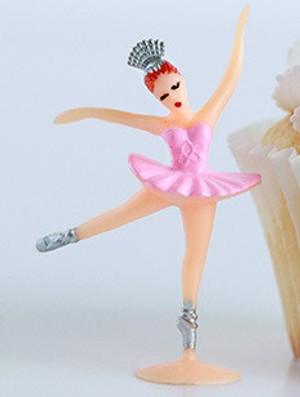 Dollhouse Miniature - G9046P - Ballerina Toy - Pink