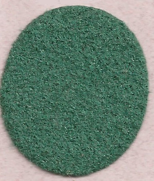 "Dollhouse Miniature - **Discontinued** - FF5977 - Carpet:  Dark Green - 14"" x18"""