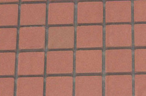MH5415 - Genuine Square Patio Bricks on mesh